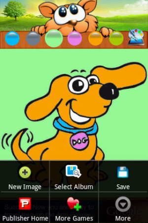 Download Coloring Famous Cartoon Dogs free for your Android phone