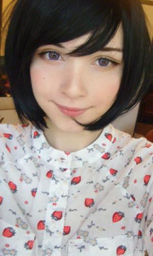 When Russian meets Japanese Katya Lischina cuteness overload!
