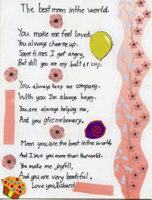 ... Share These Unique Short Happy Mother's Day Poems For Preschoolers