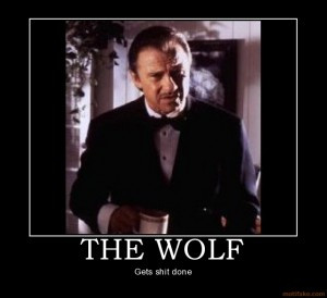 The Wolf From Pulp Fiction is the Ideal Startup Founder