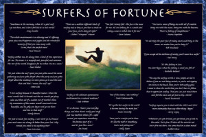 Famous Surfing Quotes Surfers of fortune surfing