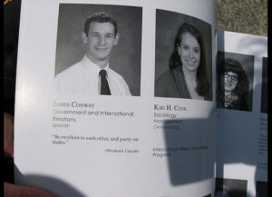 senior yearbook quote is supposed to be reflective, encapsulating ...