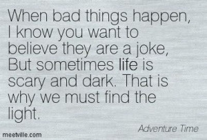 Quotes of Adventure Time About life, humor, inspirational