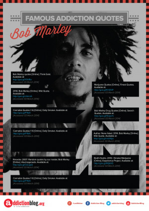 Bob Marley Smoking Weed Quotes More quotes about addiction