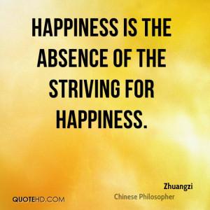 Zhuangzi Happiness Quotes