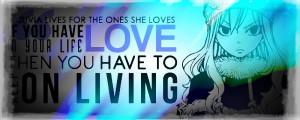 Fairy Tail Juvia Quote