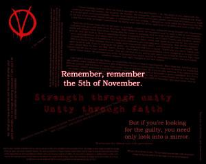 for Vendetta Quotes Remember