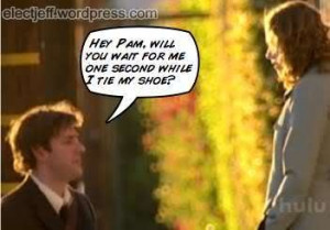 aaawww... jim and pam! :): Theoffic Aaawww, Show Movies, Office Quotes ...