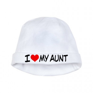 Aunt Gifts > Aunt Baby > I Love My Aunt Baby Hat