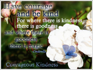 Wednesday Wonder: Cinderella Courageous Kindness