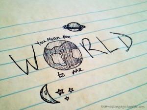 drawing, pretty, quote, universe, world