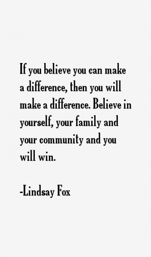 Lindsay Fox Quotes & Sayings