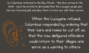 Columbus Day Native American Perspective