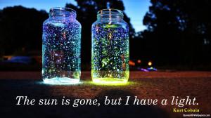 Image for Wallpaper Kurt Cobain Light Quotes