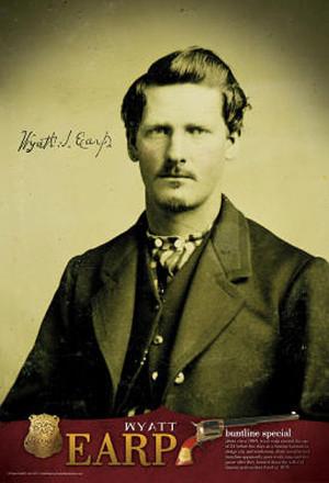 Wyatt Earp Credited