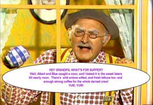 Hee Haw Grandpa Supper, Hee Haw Grandpa Supper