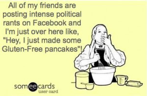 little gluten free humor...