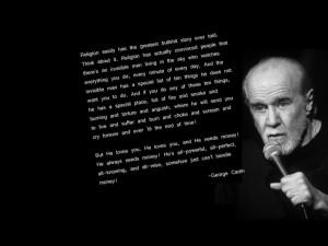 George Carlin on religion and bullshit ( secretsofthefed.com )