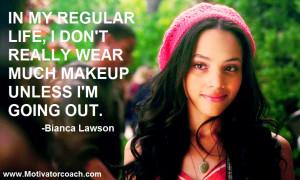 Bianca Lawson Quotes