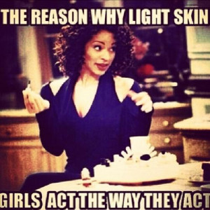 light skin girl meme