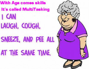 Multitasking in old age