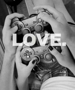 ... gamer # games # video games # love # couple # gamers couple # couple