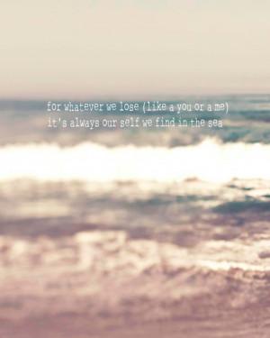 ... inspirational art, ocean, blue, white, beige, sea, motivational quote