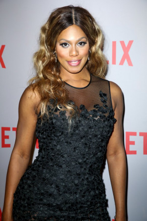 Laverne Cox No Makeup
