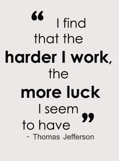 Volleyball Teamwork Quotes | Hard work quote - Thomas Jefferson - I ...