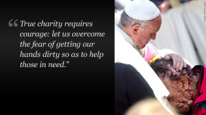 ... capitalism, homosexuality -- little is off limits for outspoken pope
