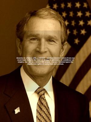 George W Bush Quotes
