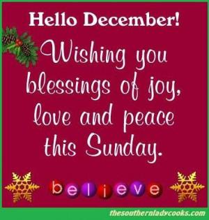 Happy December y'all!