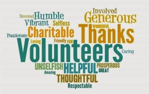 Thank You Volunteers Quotes , Greetings , Sayings