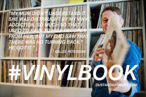 vinylbook , Gilles Peterson , vinyl quotes