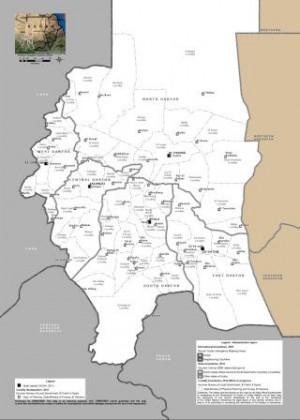 Sudan Darfur Region Map