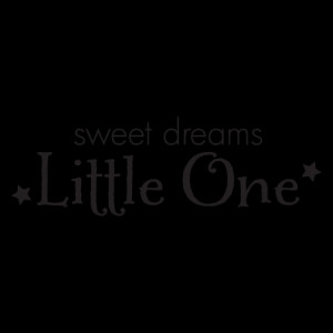 Sweet Dreams Little Boy Wall Quotes™ Decal