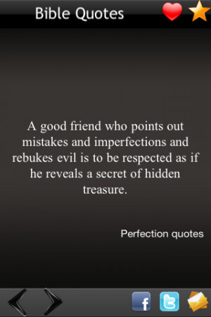 Good Friend Who Points Out Mistakes And Imperfections And Rebukes Evil ...