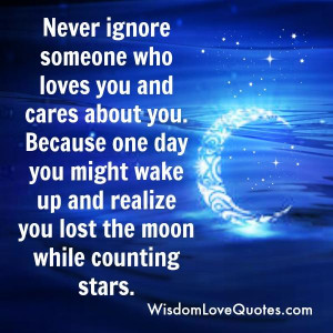 Ignore Someone Who Cares