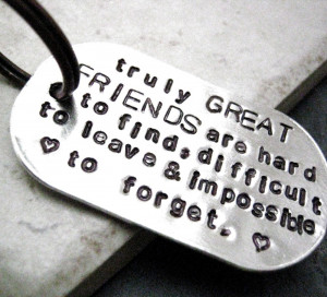 No matter what, I never forget my friends...