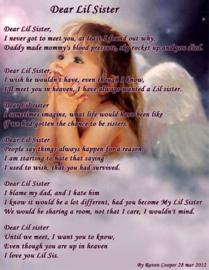sister poem happy birthday poems for a for my beloved sister ...