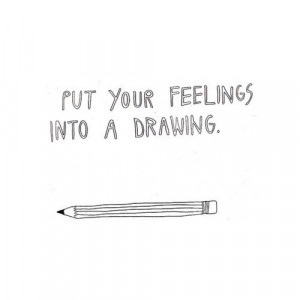 art, doodle, drawing, quote, text