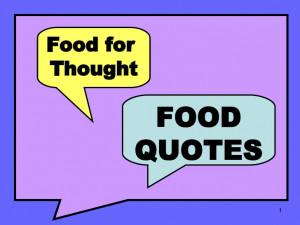Food Quotes - University of Nebraska