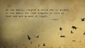 Plato quote Wallpaper