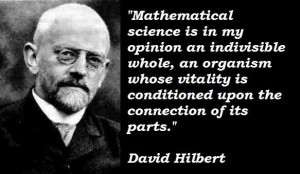 David hilbert famous quotes 4