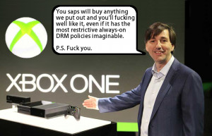 XBox One DRM is hideous - but Microsoft think you'll buy one anyway.