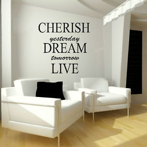 Image of inspirational quotes wall art