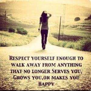 walking away walking away respect yourself enough to walk away