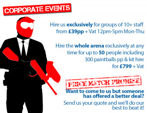 Corporate Paintball Events