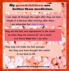 miss you. (my grandchildren)
