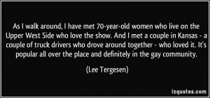 More Lee Tergesen Quotes